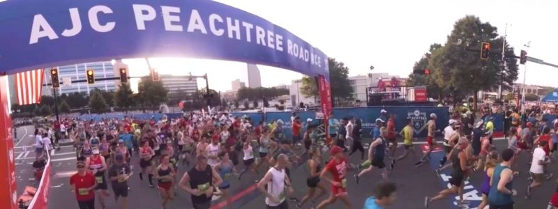 Atlanta Peachtree Road Race