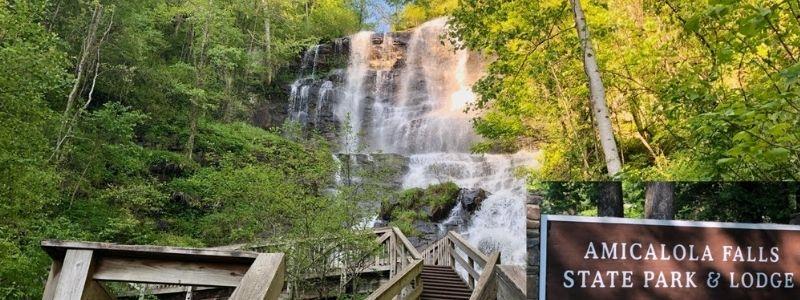 Amicalola Falls Park Georgia