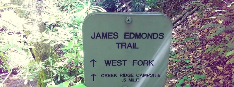 James Edmonds Backcountry Trail Hiking
