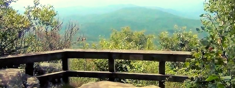 Atlanta Black Rock State Park Tennessee Rock Trail Hiking
