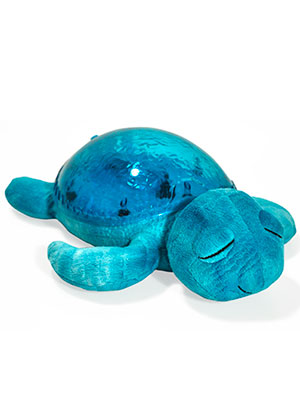 combination sound machine and light projector turtle