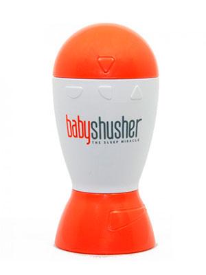 orange and white shush white noise machine for babies