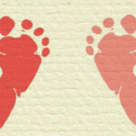 Baby Footprints DIY Keepsake Art