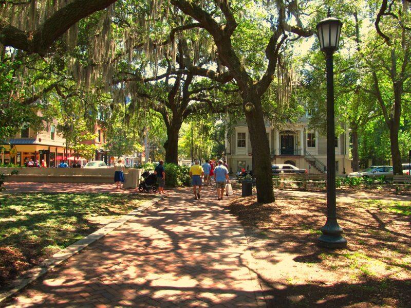 Chippewa Square, Savannah, Georgia