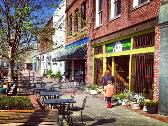 downtown gainesville ga