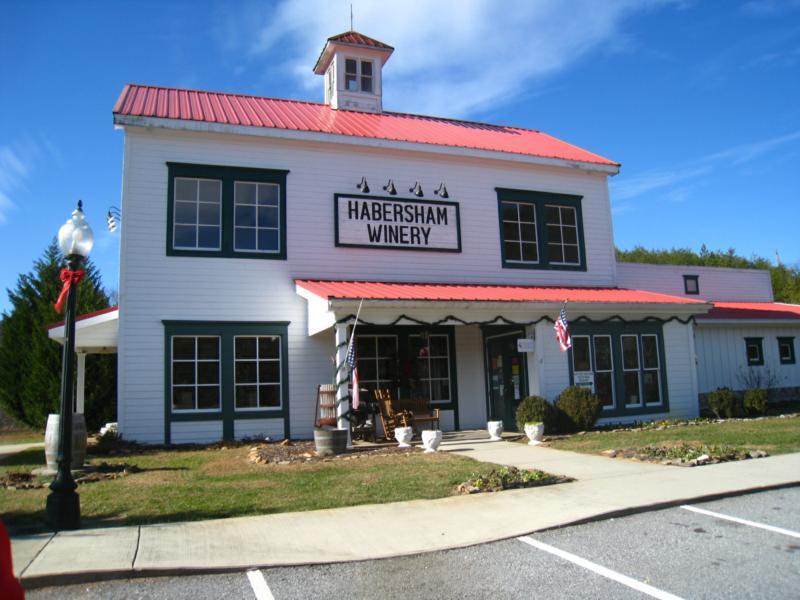 Habersham Vineyards & Winery, Helen, Georgia