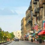 Historic River Street, Savannah GA