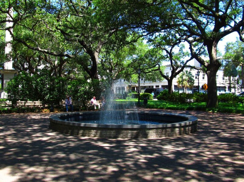 Johnson Square, Savannah, Georgia