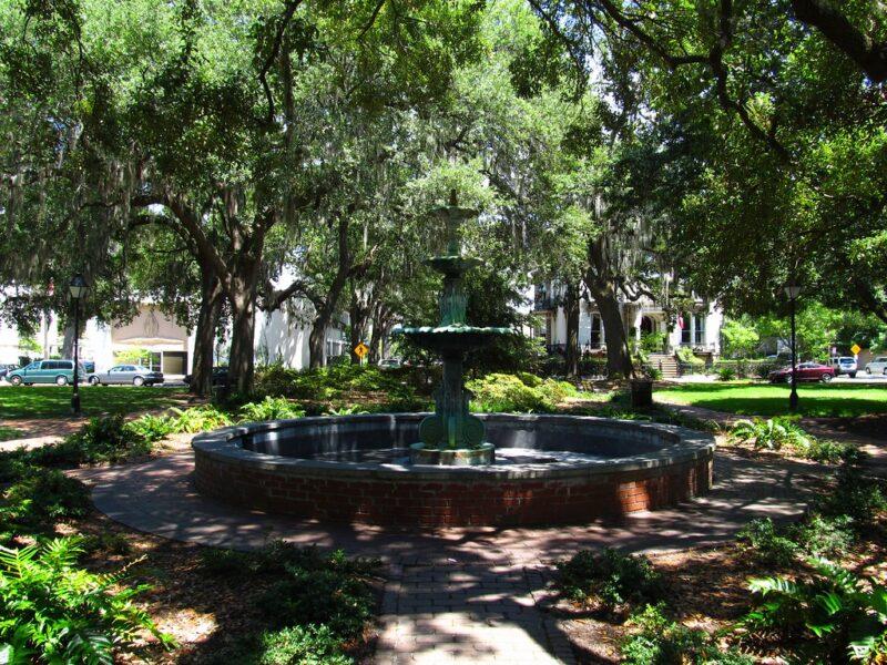 Lafayette Square, Savannah, Georgia