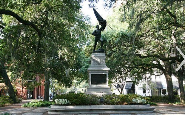Liberty square Savannah GA