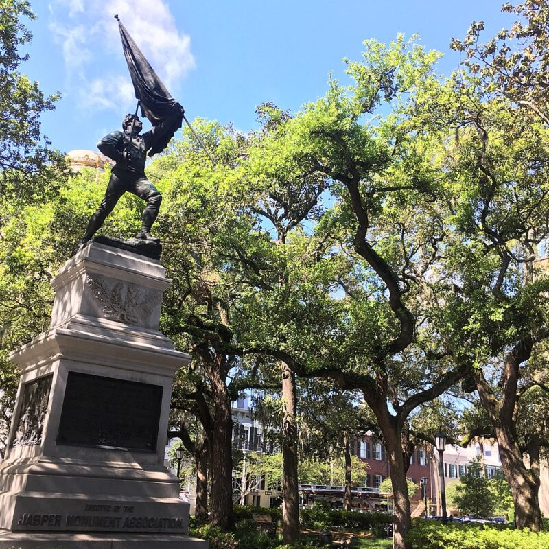 Madison Square in Savannah