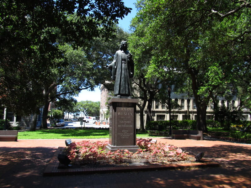 Reynolds Square, Savannah, Georgia