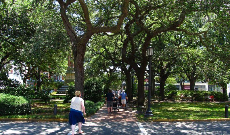 Wright Square, Savannah, Georgia