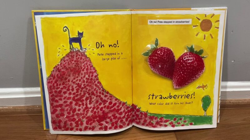 Pete the Cat - Strawberries - YouTube